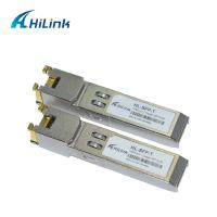China RJ45 Port HL-SFP Optical Transceiver Module 1000 BASE -T SFP Gigabit Interface Converter on sale