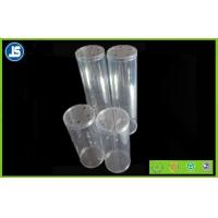 China Flexible Clear Plastic Packaging Cylinder With Stamping Print For Cosmetic wholesale