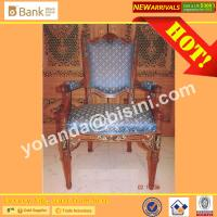 China (BK0109-0015C) Imperial Blue Luxury Wood  Dining Chairs, European Style Antique Marquetry Royal Palace  Dining Furniture wholesale