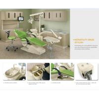 China Seamless PU Cushion Dental Chair Easy For Four-handed Treatment. wholesale