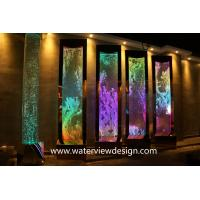 China NEW programmable water bubble wall screen room divider for hotel resturant on sale
