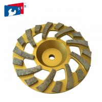 China 105mm Diamond Grinding Wheel with Cup Shape for Concrete Marble Floor wholesale