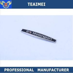 China Personalized Chrome Plating Metal Car Fender Emblems Custom Car Badge wholesale
