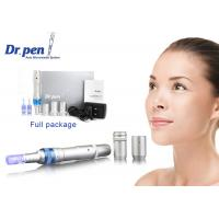 China Sliver Dermapen Micro Needling Dr Pen A6 Digital Permanent Makeup Machine for Anti - aging wholesale