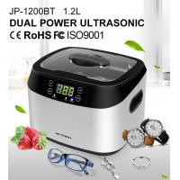 China Degas 1200ML Capacity Household Ultrasonic Cleaner , Small Portable With LED wholesale