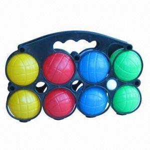 China 8 Plastic Beach Catch Ball Set, EN 71 Standard wholesale