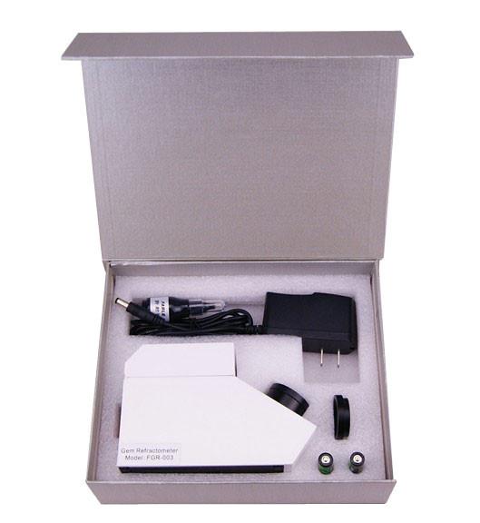 Quality Refractometer dos instrumentos do teste da gema da CZ com escala de teste 1.35-1.85 for sale