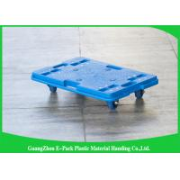 China 150KG 4 Wheel Cart Dolly  For Plastic Crate , Recyclable Heavy Duty Moving Dolly on sale