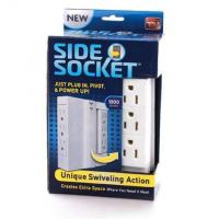 Buy cheap Multifunction Side Swivel Socket , ABS Copper Space Saving Wall Power Strip from wholesalers