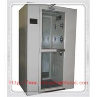China White Color Clean Room Equipment Air Shower Cabinet With Electronic Interlock wholesale