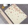 China Diatom Mud Non Slip Bath Rug Diatomite Waterproof  Non Slip Shower Mat wholesale