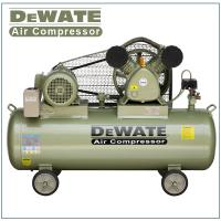 China Single Phase Portable Air Compressor With Tank 100 L wholesale