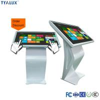 1080P 47 Inch Floor Stand IR Touch Screen LED Backlight Panel Digital Signage