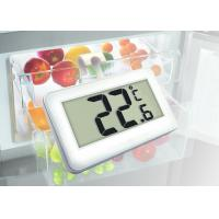 China High Accuracy Digital Refrigerator Freezer Thermometer Large Display White Color wholesale