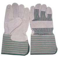 China Working gloves(Cow split leather working gloves ) on sale