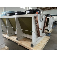 China Vertical Evaporator V Type Air Cooled Dry Cooler  For Cold Storage wholesale
