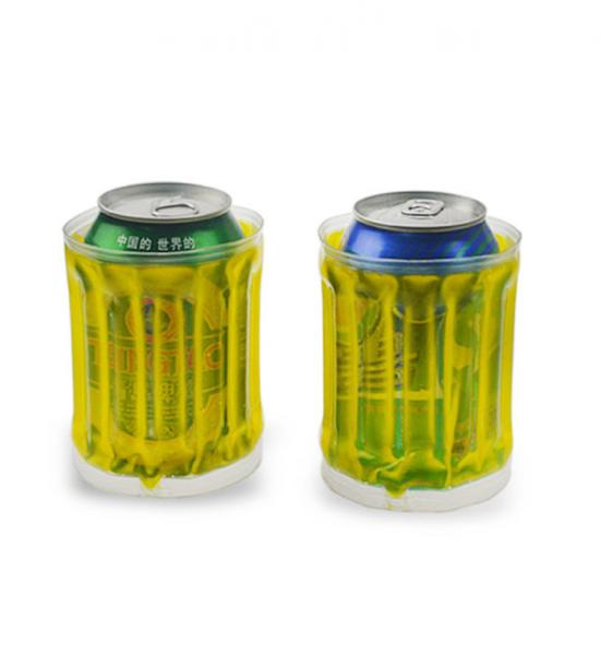 Quality Hot Selling Plastic Beer Can Cooler Holder nice for hot summer for sale