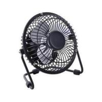 China 8 inch black antique electric metal table USB mini fan with 220V / 50Hz or 110V / 60Hz wholesale