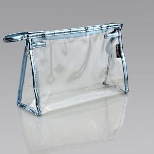 China Clear PVC Plastic Bag Ladies Toiletry Travel Vinyl Zipper Bags ECO - Friendly wholesale