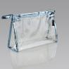 Buy cheap Clear PVC Plastic Bag Ladies Toiletry Travel Vinyl Zipper Bags ECO - Friendly from wholesalers