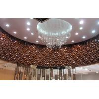 China Lobby Pop Wall Decor PVC 3D  Background Wall for Sofa / TV Background wholesale