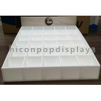 China Counter Top Acrylic Tile Display Stands 3'' x 2.4'' For Ceramic Tiles on sale