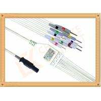 Buy cheap Burdick Quinton Q Stress ECG Monitor Cable 10 Lead wires IEC from wholesalers