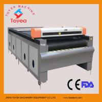 China 2015 NEW Auto feeding laser Cutting machine for Cloth/Fabric/leather Laser Cutter TYE-1630 wholesale