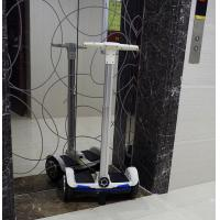 Quality White 10 Inch Electric Scooter With Handle Bar , Self Balancing Bluetooth Scooter for sale