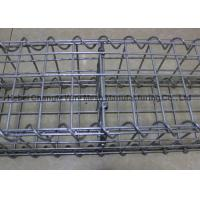 China Strong Galvanized Stone Filled Cages Explosionproof , Retaining Wall Baskets Box Wear Resistance wholesale