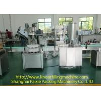 China Easy Cleaning Glass Bottle Filling Machine 0.8 Kw Chinese Or English Use wholesale