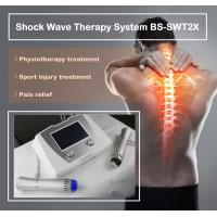 China Excellent Back Pain Relief Shockwave Therapy Machine , Shockwave Physiotherapy Machine wholesale