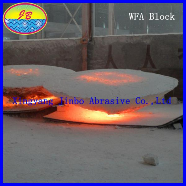 Quality White Fused Alumina  for Ladle Castable for sale