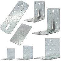 China Building Corner Galvanized Steel Angle Brackets Heat Treating High Performance wholesale