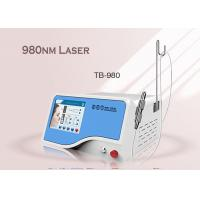 China Effective Spider Vein Removal Touch Screen 980nm Diode Laser Equipment 1-5Hz 10W Portable wholesale