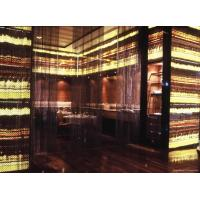China wooden yellow onyx with glass backlit translucent panel wholesale