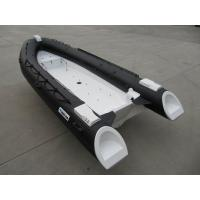 China 480Cm Long Frp Rigid Inflatable Rib Boat , 8 Person Inflatable Boat With Locker Console wholesale