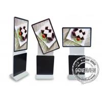 China Rotate Stand Alone Digital Lcd Advertising Player 55 Inch For Meeting Center on sale