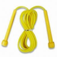China PVC Jump Rope with Plastic Handle, OEM Orders are Welcome wholesale