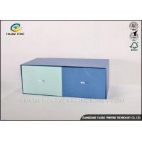 China Double Colors Cardboard Gift Boxes Fine Logo Printed Apparel Storage Box wholesale