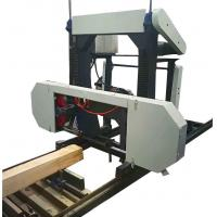 China 1300mm Portable Horizontal Band Sawmill for Log woodworking machinery large saw on sale