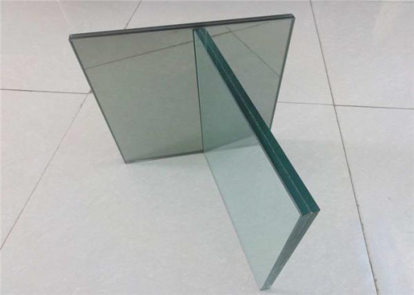 Quality Flat / Curve Shape Laminated Float Glass , Coloured Laminated Glass For Bus Station for sale