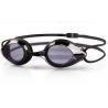 China PC Lens Optical Swimming Goggles Black Color UV Shield Fashion Design wholesale