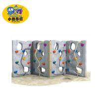 China School Kids Backyard Climbing Wall , Outdoor Rock Climbing Wall UV - Resistance wholesale