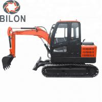 Highly Efficient Hydraulic Excavator Machine 3 Ton For Road Digging CE Certificate