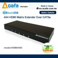 Buy cheap 4 in 4 out Matrix HDMI 1080P Switch Extender over IP with RS232 and IR from wholesalers