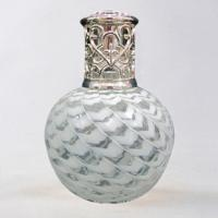China 285ml Fashional Red,  Silver Aroma Fragrance Lamp, Glass Oil Catalytic Lamps MS-FL0049 wholesale