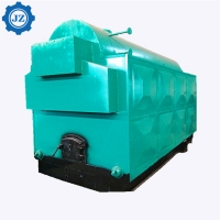 China DZH Type Moving Grate Stoker Waste Palm Biomass Fired Steam Boiler For Palm Oil Mill wholesale