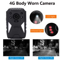 Buy cheap Full HD 1440P 3G 4G Security Guard Wireless WIFI Police Video Body Worn Camera from wholesalers