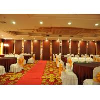 China Conference Room tri fold internal doors , Internal Folding Door For Banquet Hall wholesale